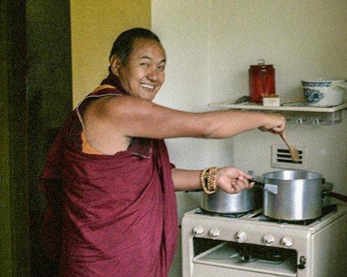 Lama Yeshe Cooking